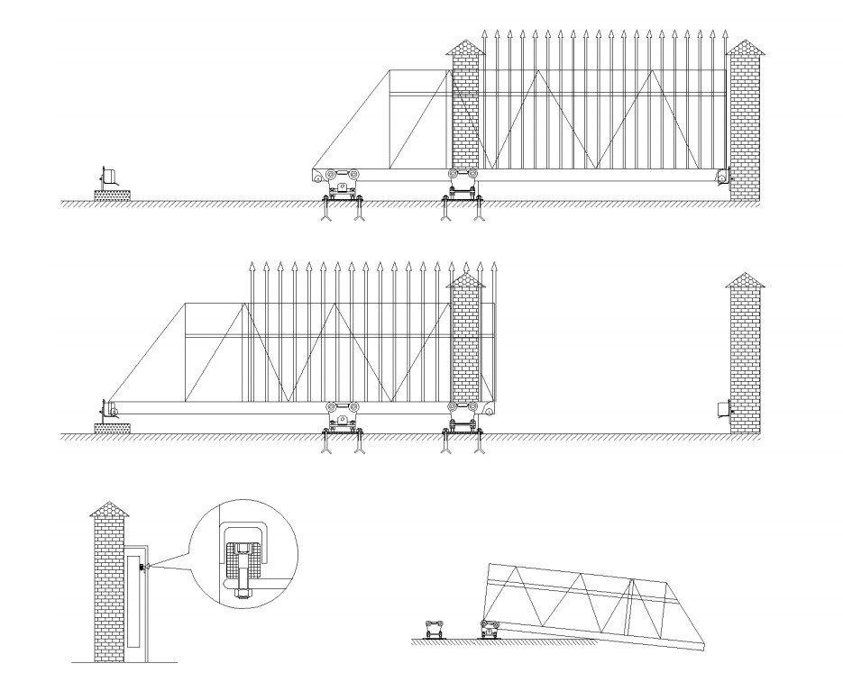 Jak postavit posuvnou bránu