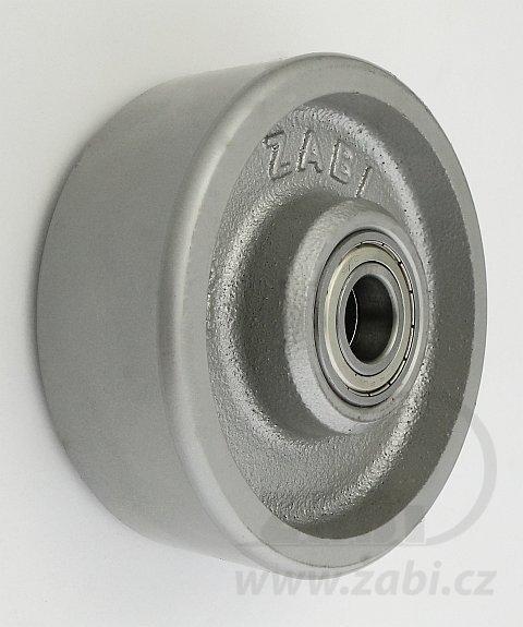 Litinové kolo 125 mm samostatné