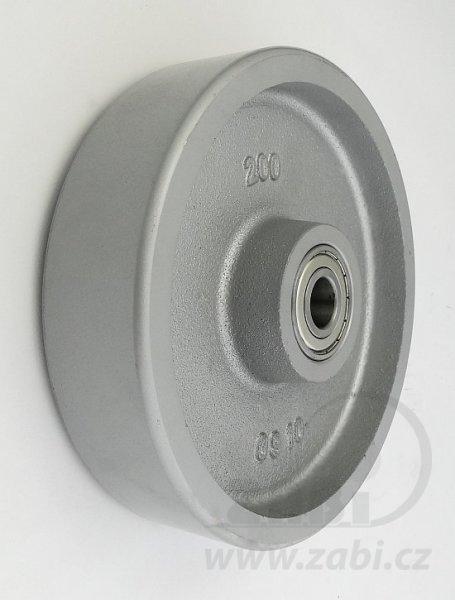 Litinové kolo 200 mm samostatné