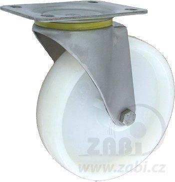 Polyamidové kolo 200 mm otočná vidlice nerez