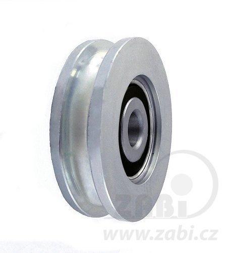 Kladka kovová s ložiskem 54 mm