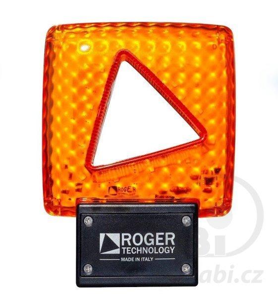 Výstražné světlo 24V s anténou
