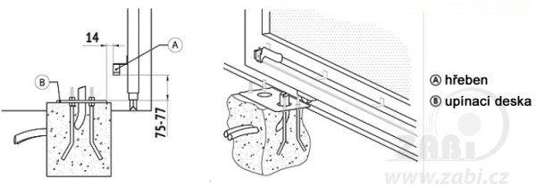 Rychlý pohon posuvné brány do 500 kg s mechanickým spínačem