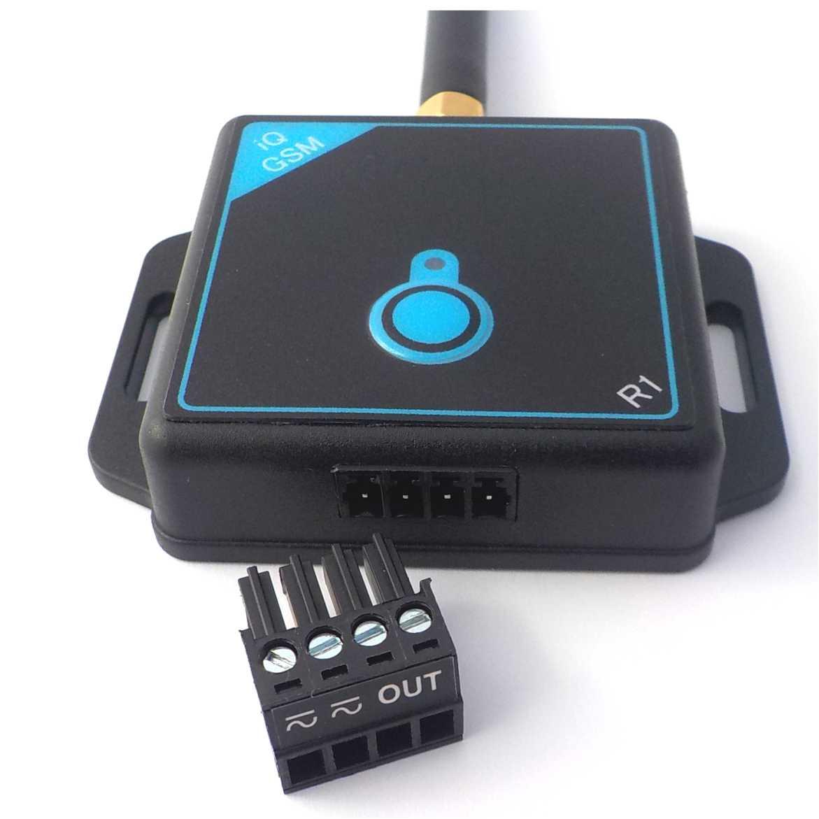 Dálkové ovládání pomocí mobilního telefonu - GSM ovládání pro 10 uživatelů