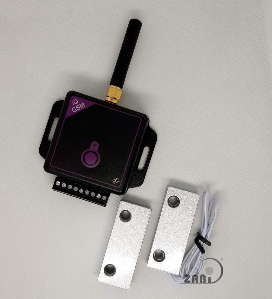 Magnetický spínač pro GSM ovládání, venkovní použití