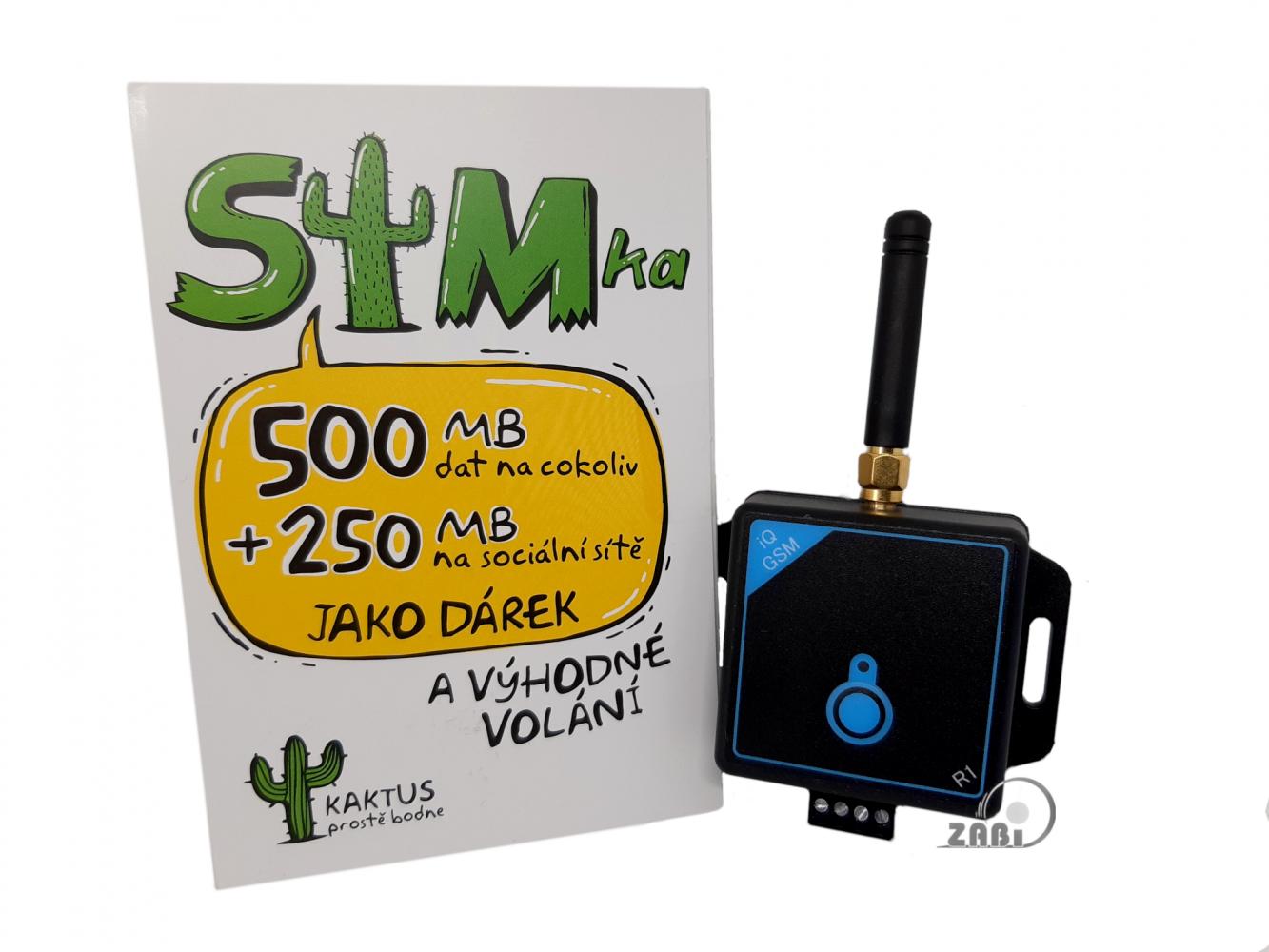 Dálkové ovládání pomocí mobilního telefonu - GSM ovládání pro 100 uživatelů