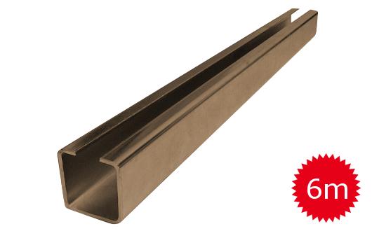Nosný C profil pro posuvnou bránu 50mm délka 6 metrů
