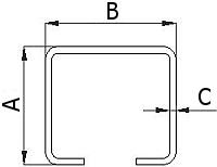Nosný vozík do profilu posuvné brány 60 mm