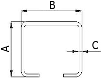 Nosný vozík 60 mm pro závěsnou bránu, vrata