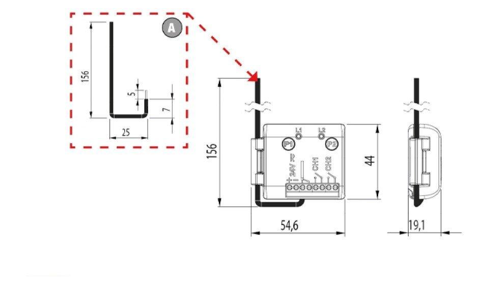 Mini externí přijímač -  pro snadnou synchronizaci dálkových ovladačů
