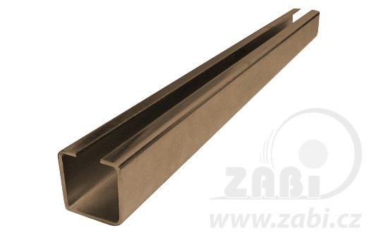 Nosný C profil pro posuvnou bránu 80mm délka 6 metru