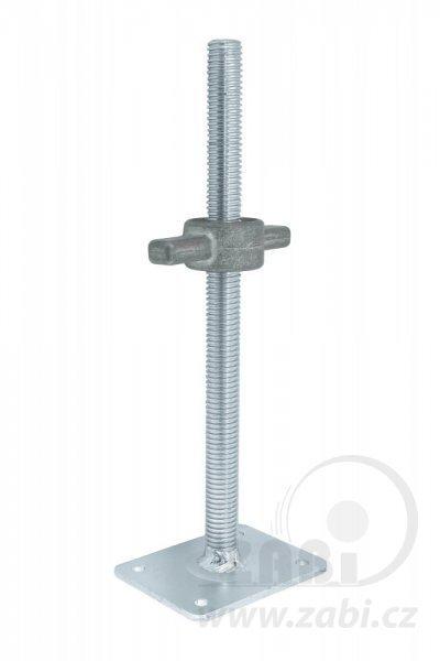Základní vyrovnávací patka pro lešení T26x500