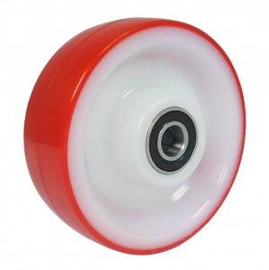 Plastové kolo 100 mm samostatné s nerezovým ložiskem
