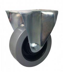 Pryžové kolo 100 mm vidlice s deskou