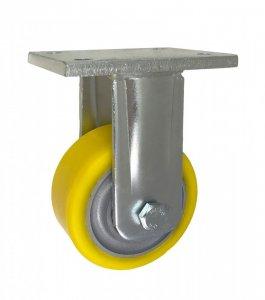 Polyuretanové kolo 100 mm pevná vidlice