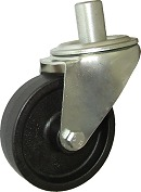 Teploodolné kolo 100 mm otočná vidlice s čepem