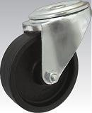 Teploodolné kolo 180 mm otočná vidlice s otvorem