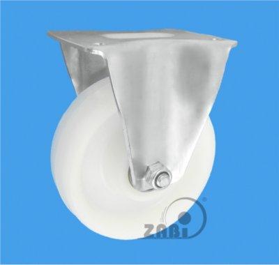 Polyamidové kolo 125 mm pevná vidlice