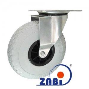 Elastické kolo 260 mm s otočnou vidlicí