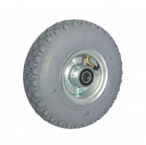 Pneumatické kolo 260 mm samostatné šedé