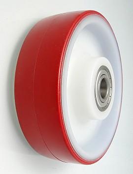Plastové kolo 125 mm samostatné