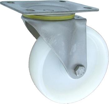 Polyamidové kolo 100 mm otočná vidlice nerez