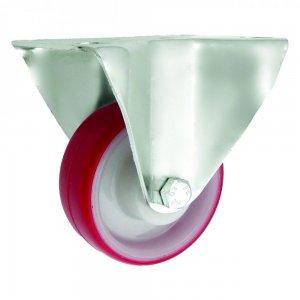 Plastové kolo 80 mm pevná vidlice s deskou
