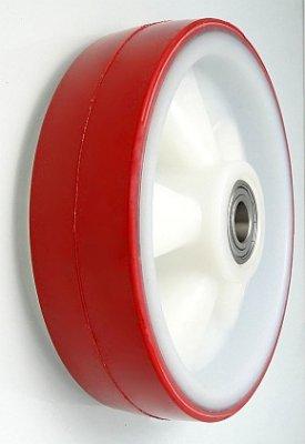 Plastové kolo 200 mm samostatné s nerezovým ložiskem