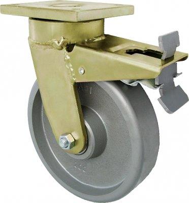 Litinové kolo 160 mm otočná vidlice s deskou