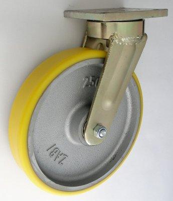 Polyuretanové kolo 350 mm otočná vidlice