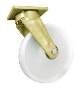 Polyamidové kolo 250 mm otočná vidlice svařovaná pro vysoké zatížení