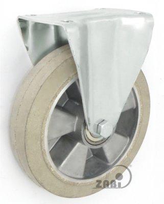 Pryžové kolo 250 mm pevná vidlice s deskou
