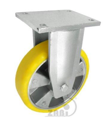 Polyuretanové kolo 200 mm pevná vidlice