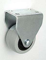 Nábytkové kolo 40 mm pevná vidlice s deskou