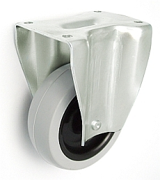 Nábytkové kolo 75 mm pevná vidlice s deskou