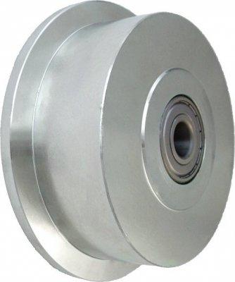 Ocelové kolo s nákolkem 180 mm
