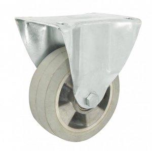 Pryžové kolo 125 mm pevná vidlice s deskou
