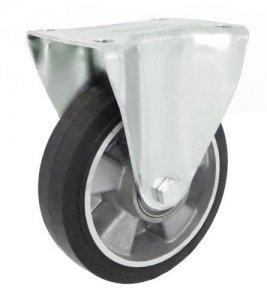 Pryžové kolo 160 mm pevná vidlice s deskou