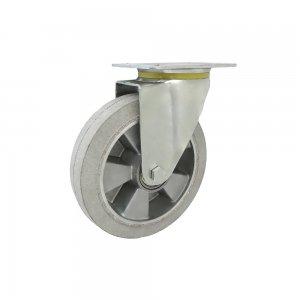 Pryžové kolo 200 mm otočná vidlice s deskou