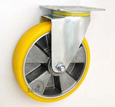 Polyuretanové kolo 200 mm otočná vidlice