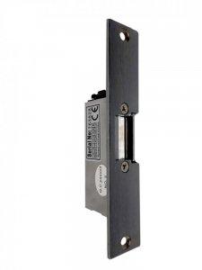 Elektrický zámek dveří s nerezovým štítkem