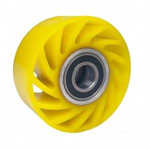 Polyuretanové kolo NO CRUSH 100 mm s ložiskem