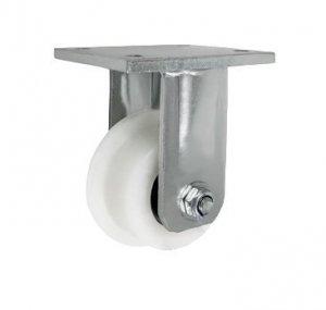 Plastové kolo s nákolkem ve vidlici 95 mm
