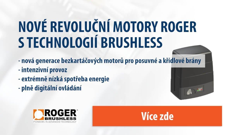 Banner - HIGH SPEED motory s Brushless technologií